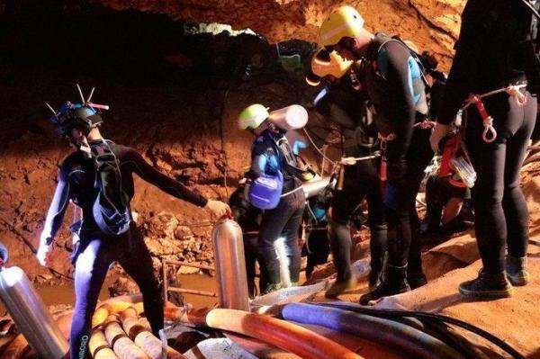 Caverna na Tailândia (Imagem: BBC)
