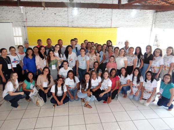 Evento reuniu profissionais da Assistência Social, Saúde e Educação, além do Núcleo da Criança e do Adolescente