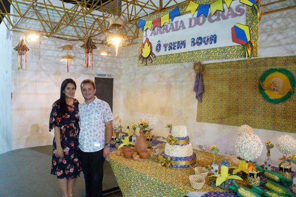 1º Arraiá do CRAS de São Pedro do Piauí reúne diversas apresentações artísticas e culturais; imagens