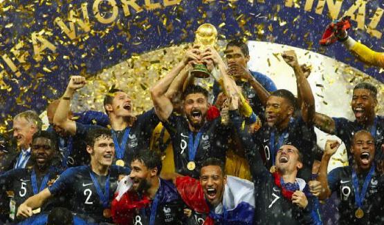 França vence Croácia por 4 a 2 e é a grande campeã da Copa do Mundo
