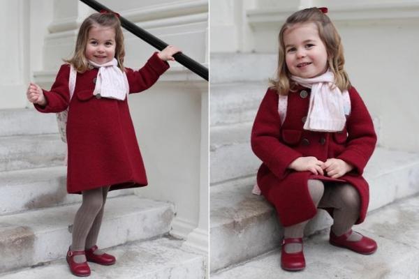 Princesa Charlotte já vale bilhões a mais do que o irmão George