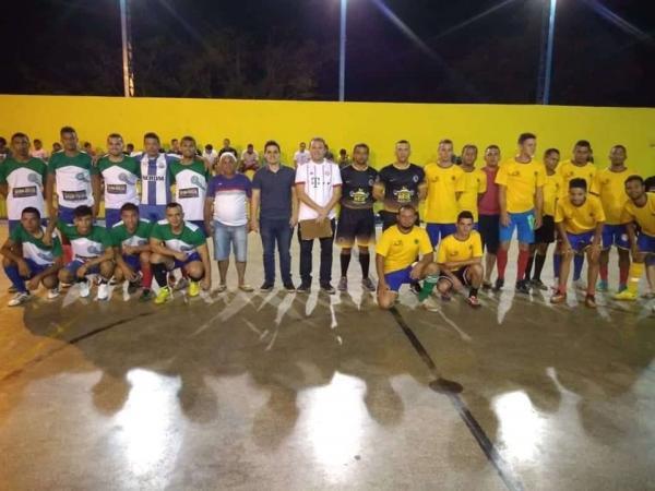 Cruzeiro vence Resto do Mundo e é campeão da 17ª Copa Julho de Futsal de São Gonçalo do Piauí