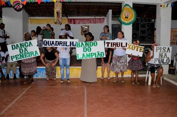 Assistência Social de Angical promove grande festa de Arraiá com diversas apresentações; veja imagens