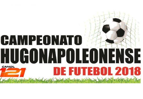 Campeonato Hugonapoleonense de Futebol 2018 terá início neste sábado, dia 21