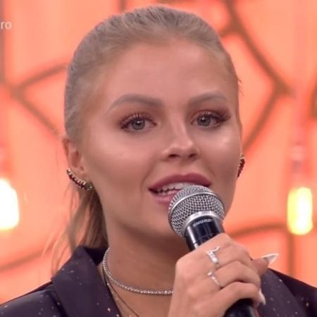 Luísa Sonza recebe declaração de amor