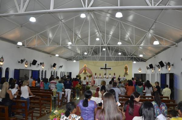 Missa em Ação de Graças é celebrada em comemoração ao 64º aniversário de Angical do Piauí
