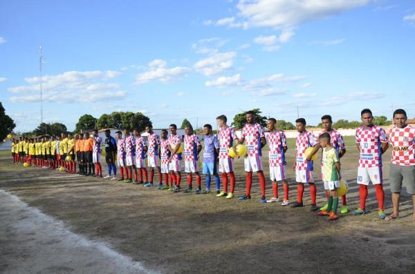 Abertura do Campeonato Municipal de Hugo Napoleão de Futebol 2018; veja imagens