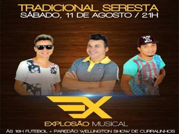 Explosão Musical animará a tradicional seresta da comunidade Lagoa do Canto