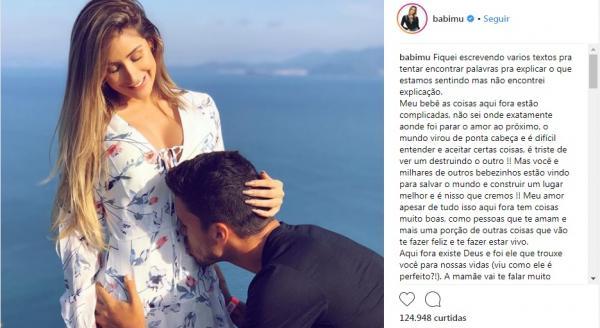 Ex-panicat Babi Muniz anuncia primeira gravidez