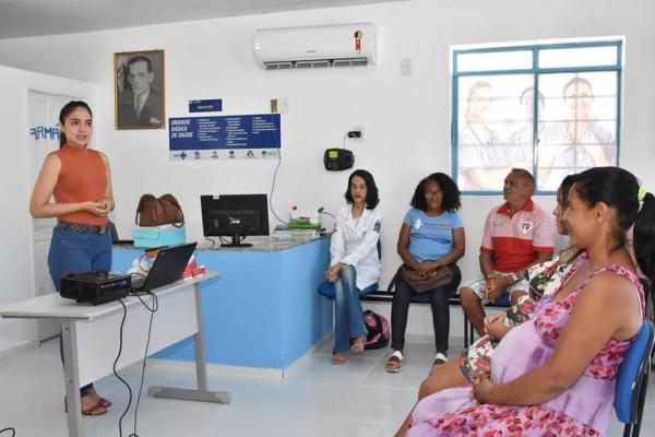 Unidade de Saúde Theodoro Sobral promove roda de conversa para gestantes