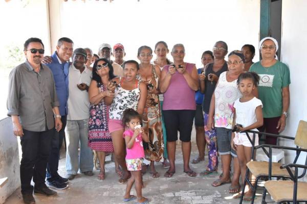 SDR entrega pintos de raça nativa para o desenvolvimento econômico de zonas rurais