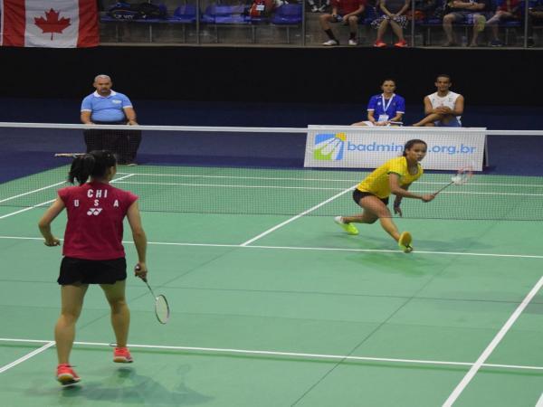 Piauiense consegue medalha de prata no PanAmericano de Badminton