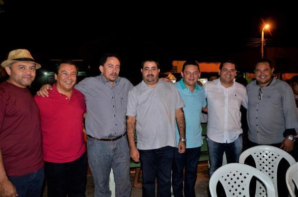 Demerval Lobão | Prefeito Júnior Carvalho recepciona autoridades durante festejo do município