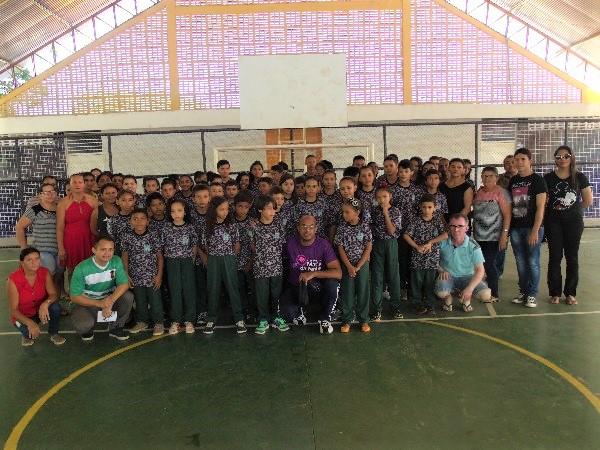 Veja como foi o 1º evento do pelotão Mirim de Prata do Piauí