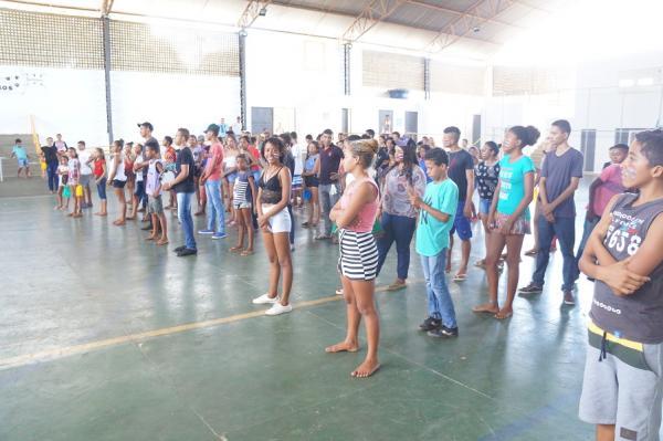 Assistência Social promove colônia de férias para crianças e adolescentes do SCFV