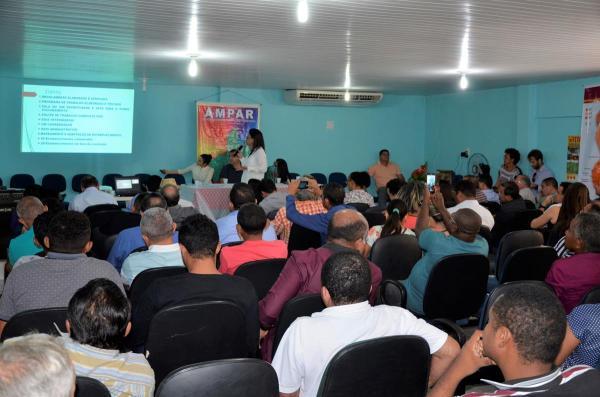 Reunião para Implantação do Sistema de Inspeção Territorial no território Entre Rios é realizada em São Pedro do Piauí