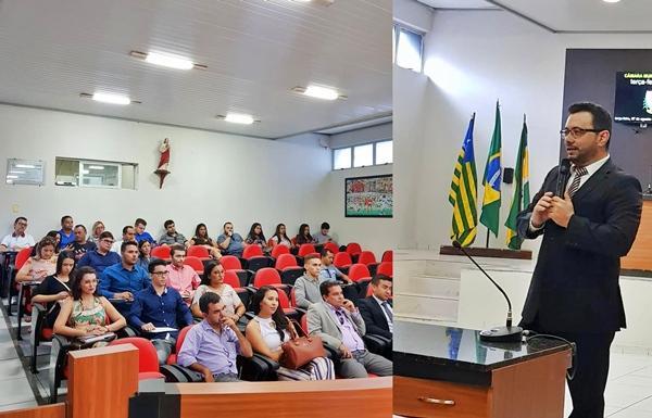 OAB promove em Piripiri palestra sobre processo eleitoral 2018