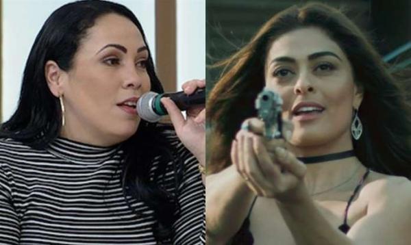 Fabiana Escobar, a Bibi da vida real, comenta processo contra a Globo: