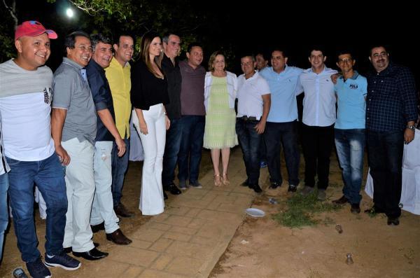 Prefeito Diego Teixeira recepciona autoridades no II Festival de Cultura em Amarante