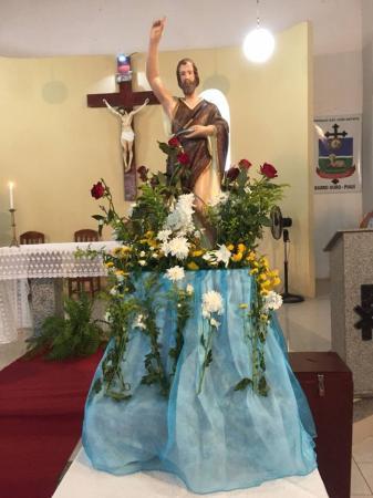 Paróquia de São João Batista em Barro Duro completa 20 Anos