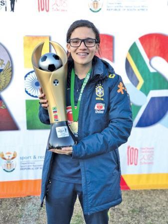 Piauiense Julia Beatriz é convocada novamente para Seleção Brasileira de Futebol Sub-17