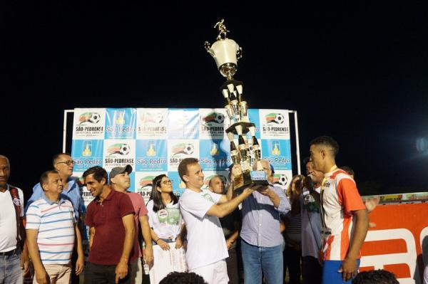 Lagoa do Canto vence Mutirão e se consagra o novo campeão São-Pedrense de futebol; veja imagens