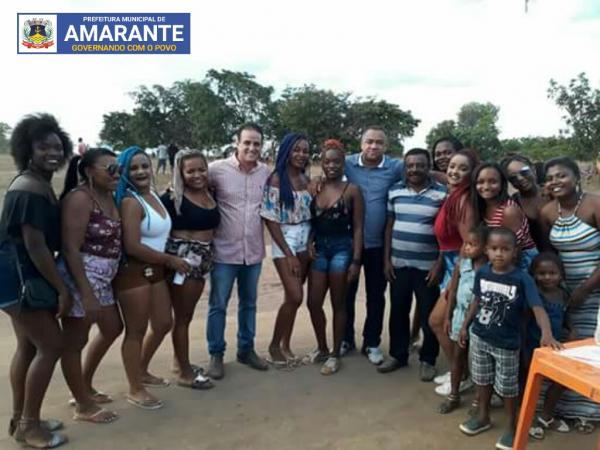 Prefeito de Amarante participa do encerramento dos festejos do Mimbó