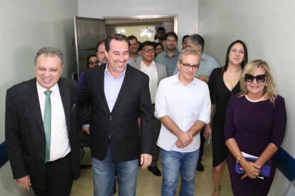 Em Teresina, ministro da Saúde Gilberto Occhi visita HGV e anuncia investimento de R$ 3,8 milhões