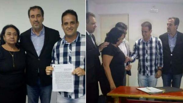 Prefeito Diego Teixeira recebe picape L200 para Saúde de Amarante