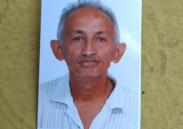 Família pede ajuda para encontrar idoso de 60 anos desaparecido em Lagoinha do Piauí