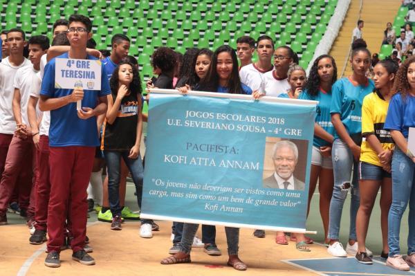XIV edição dos Jogos Escolares reúne quase 2 mil atletas no Piauí