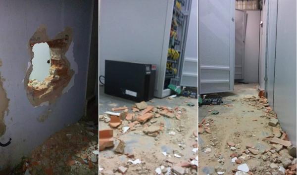 Criminosos arrobam BB de Elesbão Veloso e são flagrados pela polícia dentro da agência