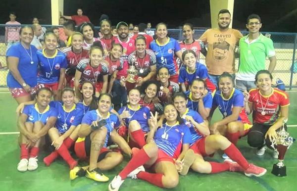 1º torneio de Futsal Feminino de Lagoa do Piauí é realizado com sucesso; a competição reuniu times de 5 cidades