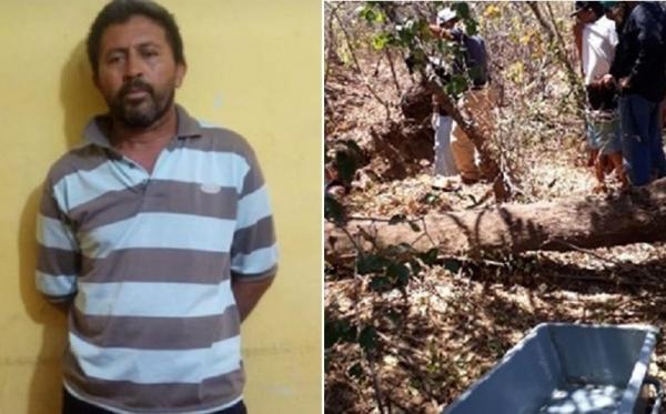 Suspeito de assassinar e enterrar vizinho idoso é preso em cidade do Piauí