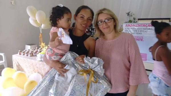 Agosto Dourado | Prefeitura de Hugo Napoleão promove encontro para estimular o aleitamento materno