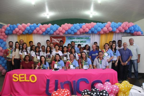 Prefeitura de Água Branca promove I Fórum Comunitário do Selo UNICEF