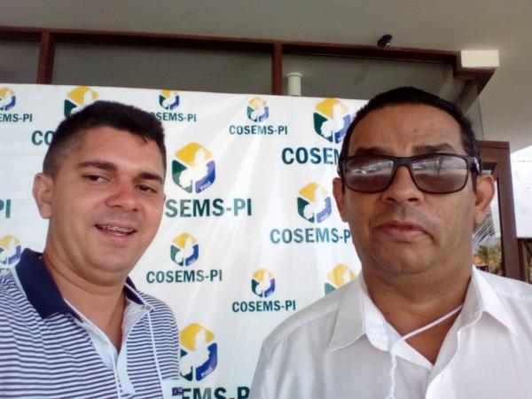 Angical do Piauí participa de Congresso da COSEMS em Luís Correia