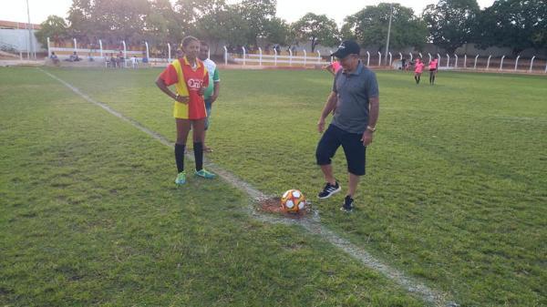 Abertura do Futebol Feminino e Seletivo Sub-21 Masculino  em Barro Duro