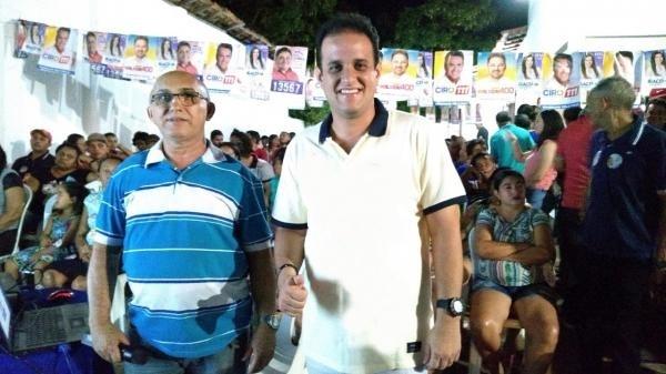 Amarante | Prefeito Diego Teixeira é recebido por grande público em reunião após vitória no TRE-PI