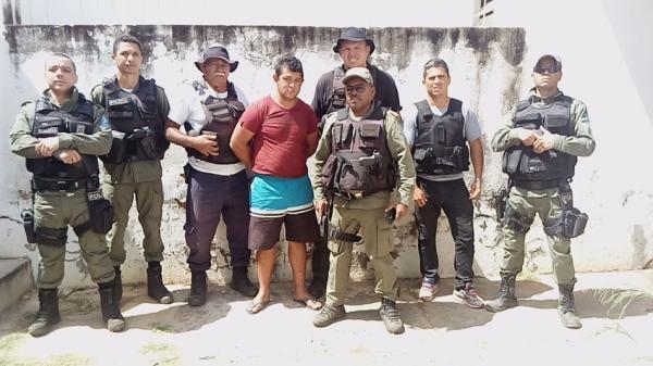 Piauí | Polícia Militar prende acusado de matar pai de vereador