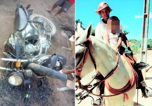 Homem de 50 anos morre após sofrer acidente com motocicleta na zona rural de Agricolândia