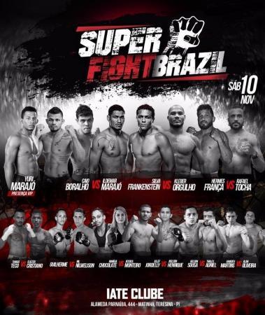 Super Fight Brazil terá disputa de cinturão e card em Teresina