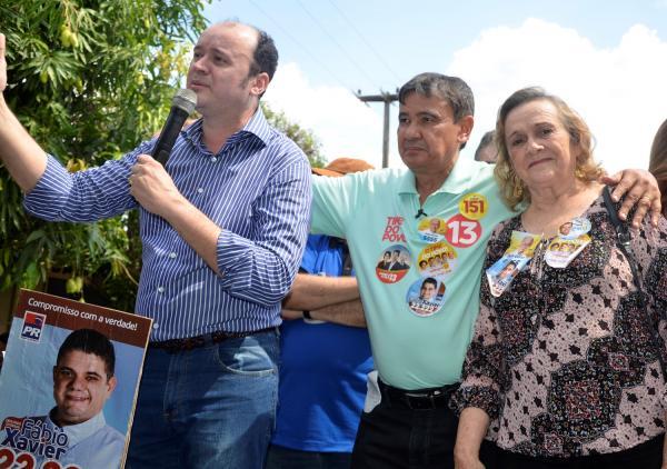 Eleições 2018 | Neta Santos recepciona Wellington Dias e deputados aliados em Angical do Piauí