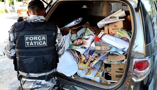 Apreensão Polícia Federal em Parnaíba (Imagem: Divulgação/TV Clube)