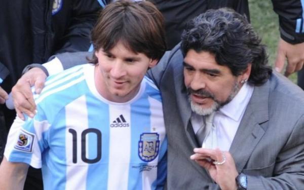 Futebol | Maradona aconselha Messi a se aposentar da seleção