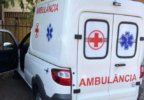 Ambulância de Miguel Leão (Imagem: Divulgação)