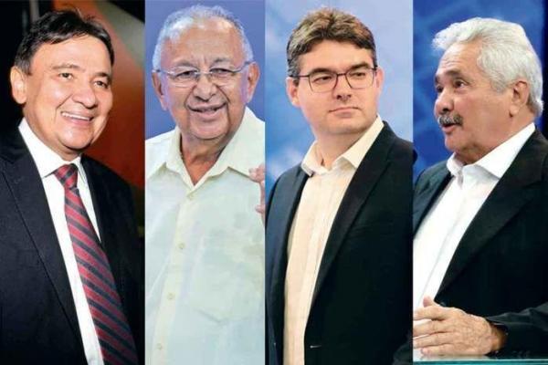 Candidatos ao Governo do Piauí votam e se mostram confiantes