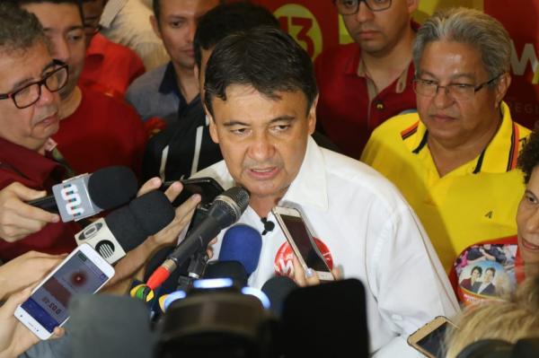 Wellington Dias é reeleito governador no Piauí — Foto: Lucas Barbosa/G1 PI