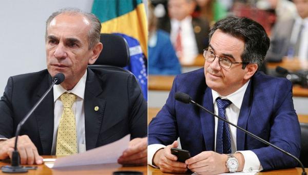 Marcelo Castro e Ciro Nogueira são eleitos senadores pelo Piauí — Foto: G1/Senado