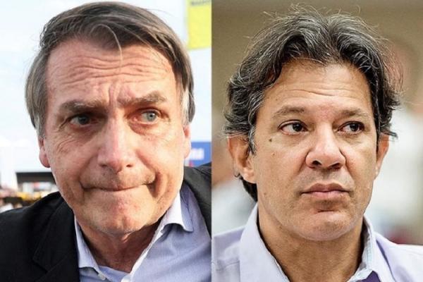 Eleições 2018 | Jair Bolsonaro (PSL) e Fernando Haddad (PT) vão se enfrentar no segundo turno, no dia 28 de outubro